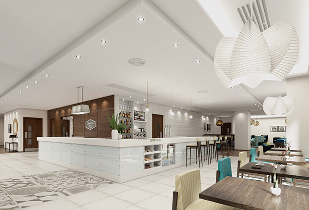 Zeal projects hampton by hilton hotel glasgow case study for Design hotel glasgow